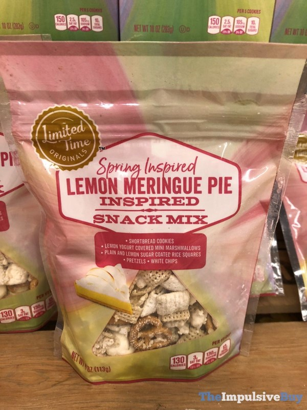 Giant Limited Time Originals Spring Inspired Lemon Meringue Pie Inspired Snack Mix