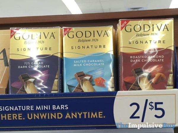 Godiva Signature Mini Bars