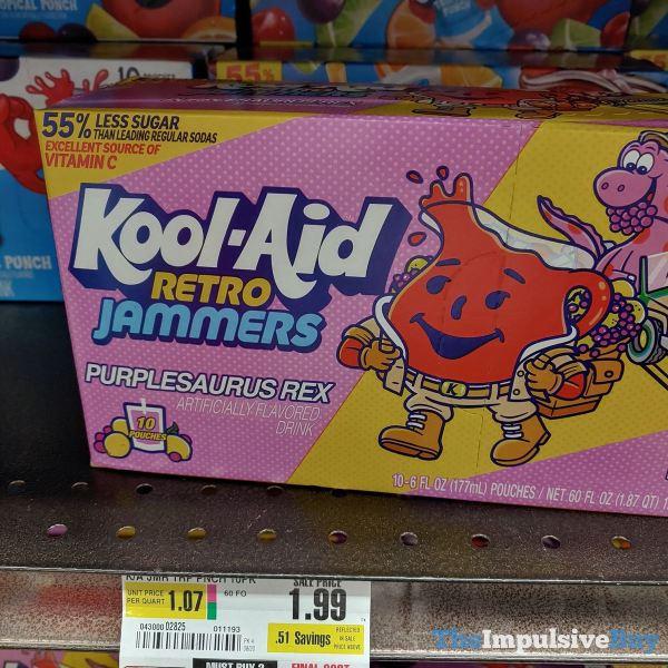 Kool Aid Retro Jammers Purplesaurus Rex