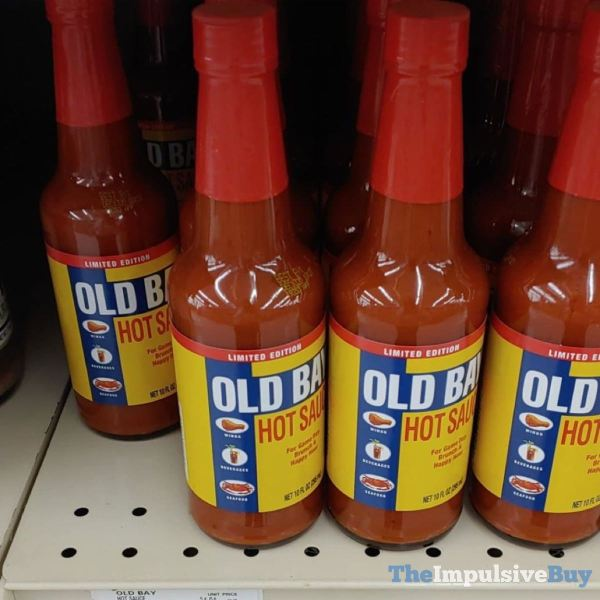 Limited Edition Old Bay Hot Sauce