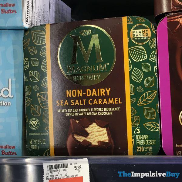 Magnum Non Dairy Sea Salt Caramel Bars