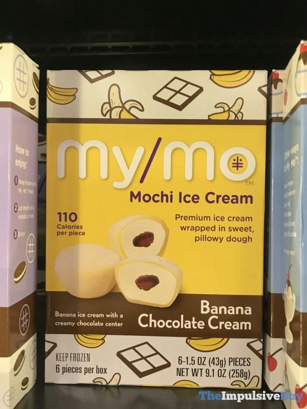 My Mo Banana Chocolate Cream Mochi Ice Cream