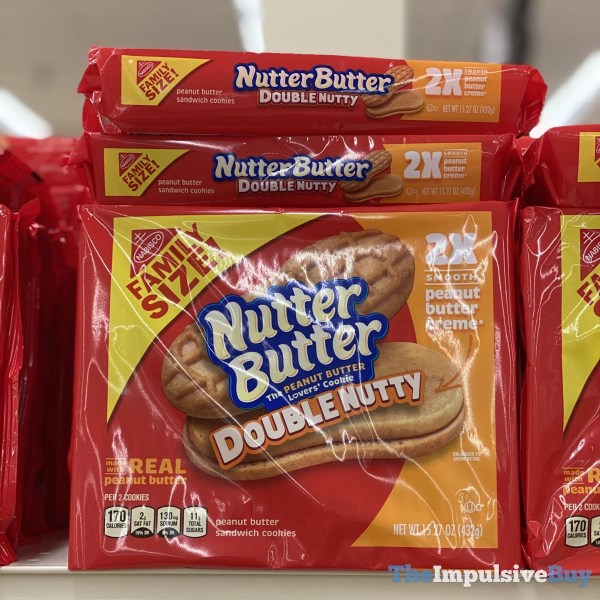 Nutter Butter Double Nutty