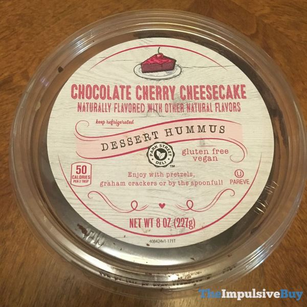 Park Street Deli Chocolate Cherry Cheesecake Dessert Hummus