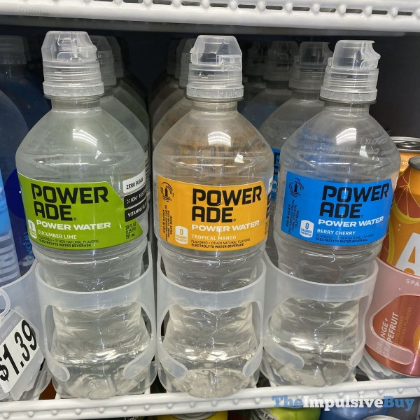 Powerade Power Water