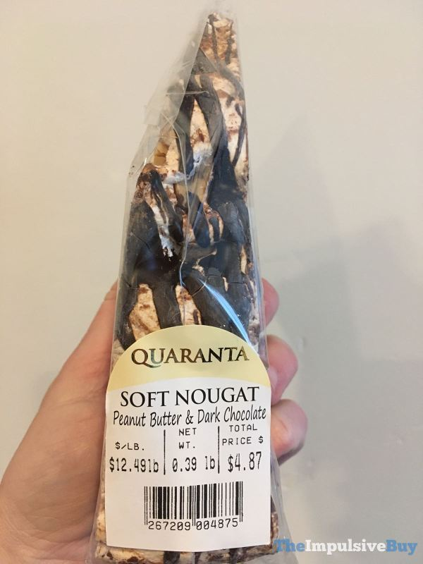 Quaranta Soft Nougat Peanut Butter  Dark Chocolate