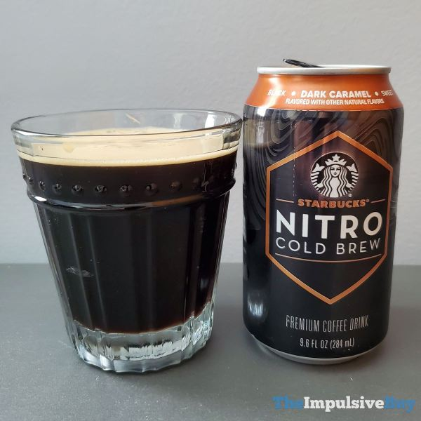 Starbucks Canned Nitro Cold Brew Dark Caramel