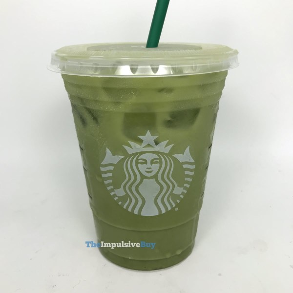 Starbucks Iced Pineapple Matcha Drink