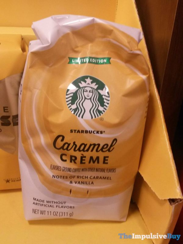 Starbucks Limited Edition Caramel Creme Ground Coffee