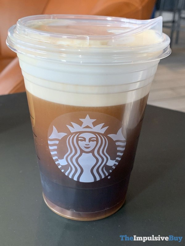 Starbucks Nitro Cold Brew with Salted Honey Cold Foam