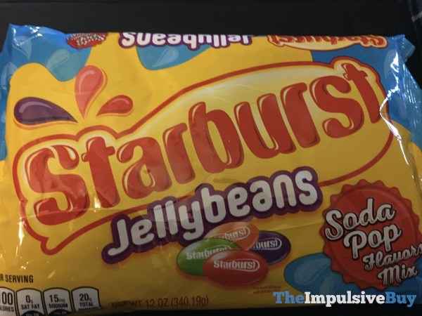 Starburst Jellybeans Soda Pop Flavors Mix