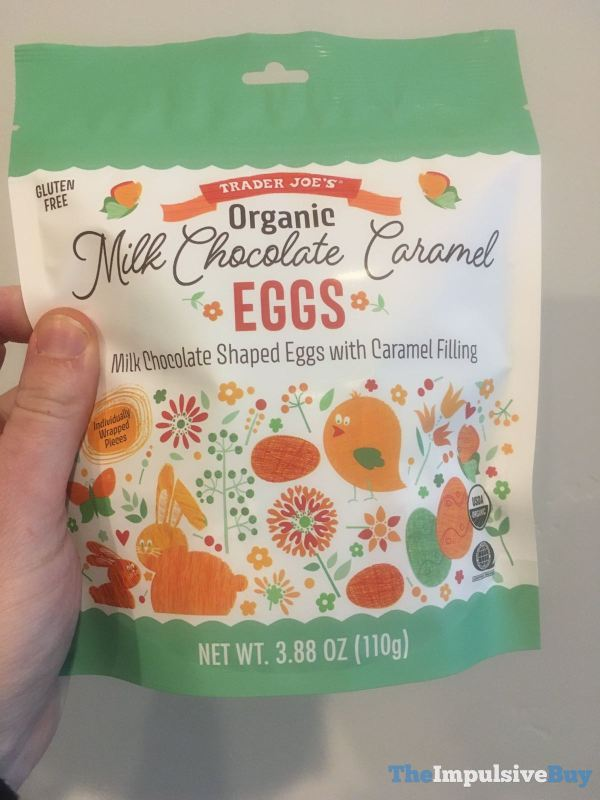 Trader Joe s Organic Milk Chocolate Caramel Eggs