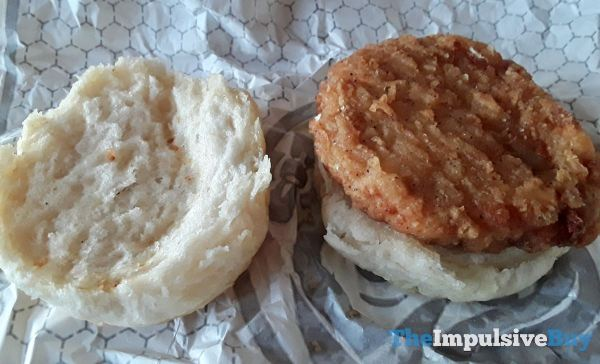 Wendy s Honey Butter Chicken Biscuit Halves