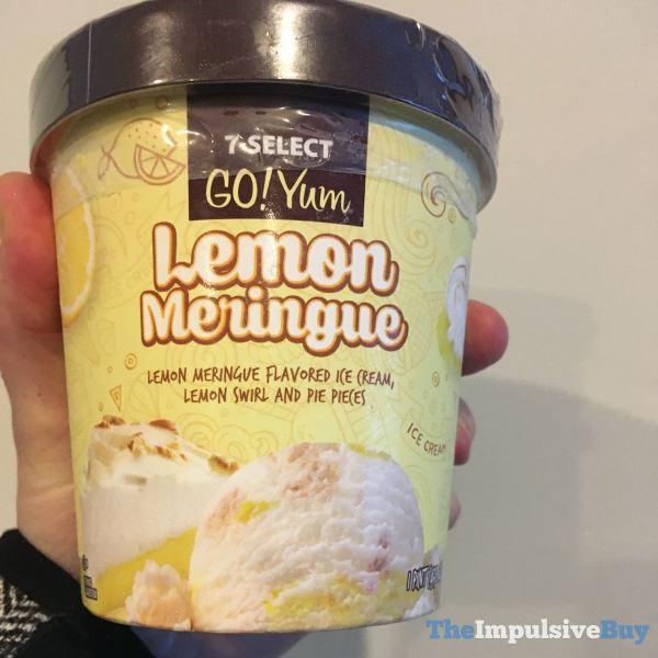 7 Select Go Yum Lemon Meringue Ice Cream