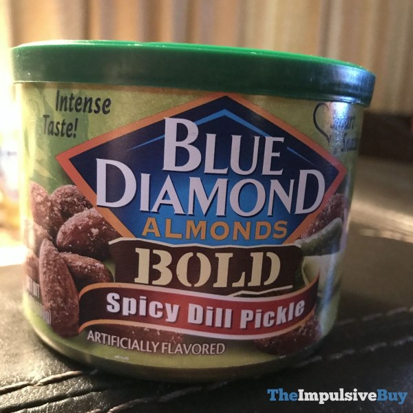 Blue Diamond Bold Spicy Dill Pickle Almonds