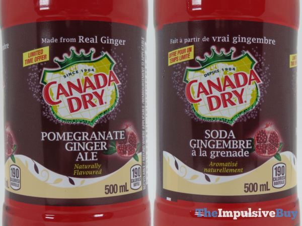 Canada Dry Pomegranate Ginger Ale 3