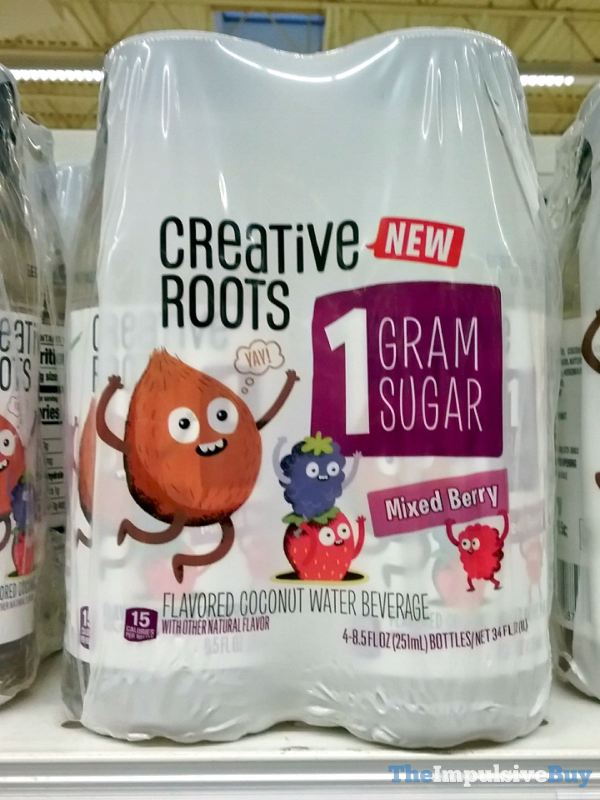 Creative Roots Mixed Berry Coconut Water Beverage