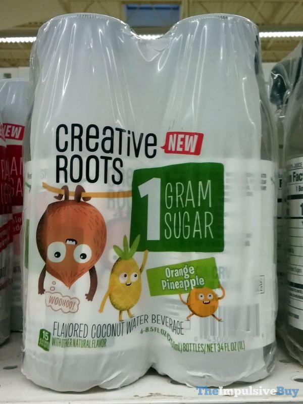 Creative Roots Orange Pineapple Coconut Water Beverage