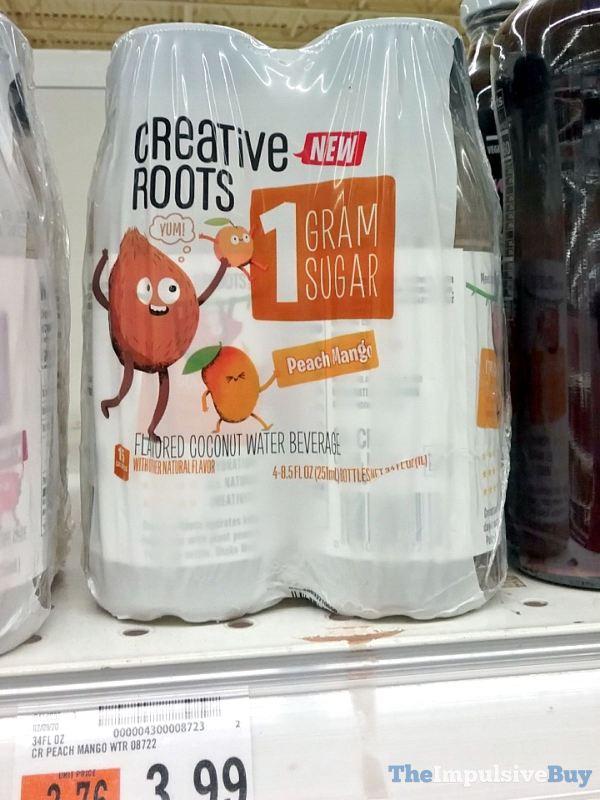Creative Roots Peach Mango Coconut Water Beverage