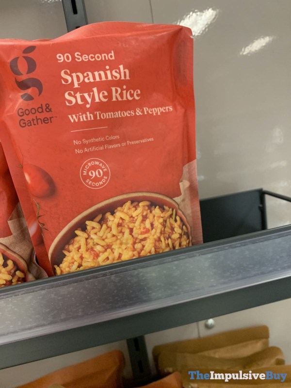 Good  Gather 90 Second Spanish Style Rice