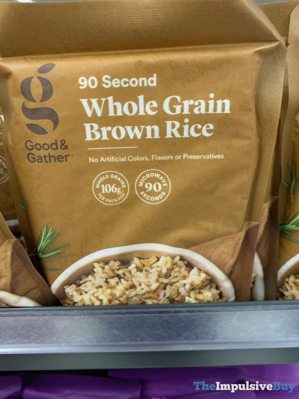 Good  Gather 90 Second Whole Grain Brown Rice