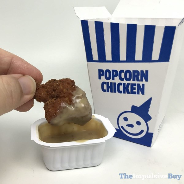 Jack in the Box Spicy Popcorn Chicken Dipped