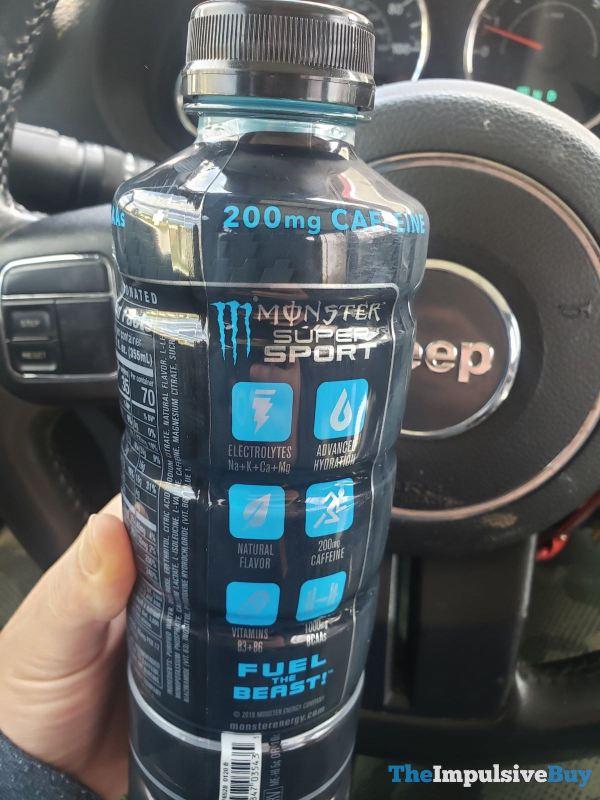 Monster Hydro Super Sport Blue Streak Back
