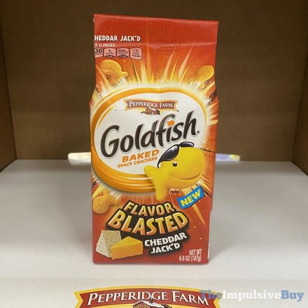 Pepperidge Farm Goldfish Flavor Blasted Cheddar Jack d