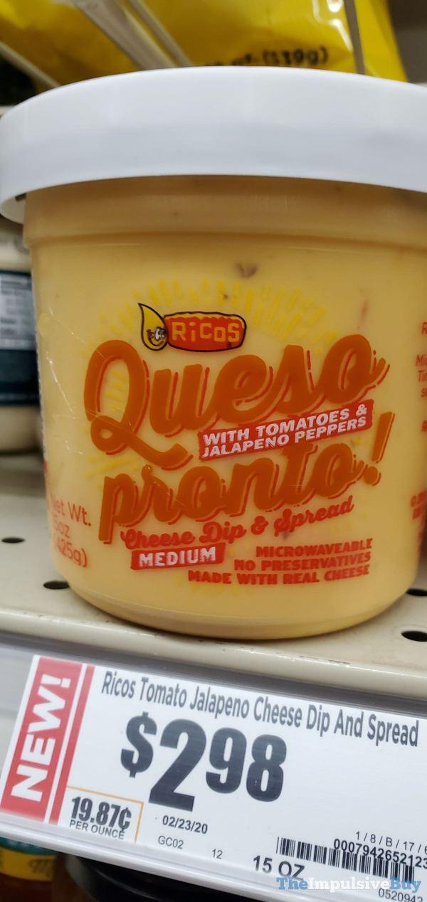 Rico s Queso proto Cheese Dip  Spread