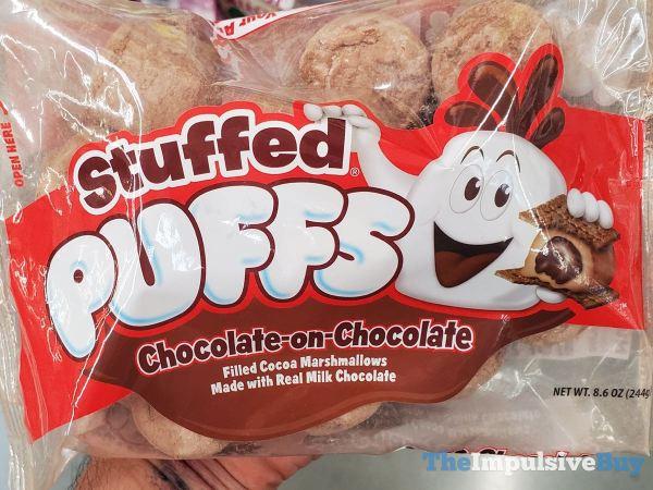 Stuffed Puffs Chocolate on Chocolate Marshamallows