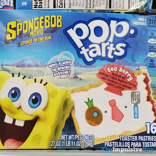 The Spongebob Movie Sponge on the Run Sea Berry Pop Tarts