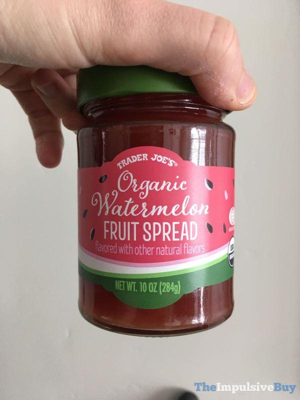 Trader Joe s Organic Watermelon Fruit Spread