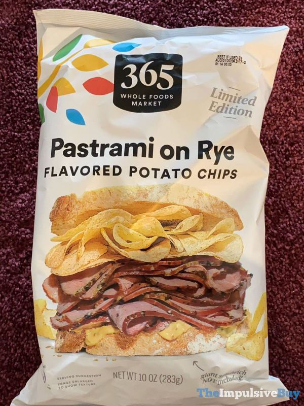 365 Whole Foods Market Pastrami on Rye Flavored Potato Chips