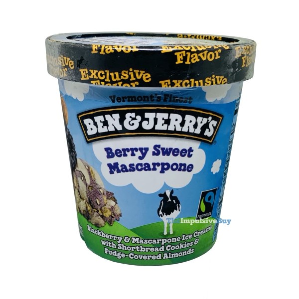 Ben  Jerry s Exclusive Flavor Berry Sweet Mascarpone Ice Cream