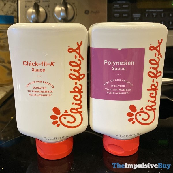 Chick fil A Sauce and Polynesian Sauce