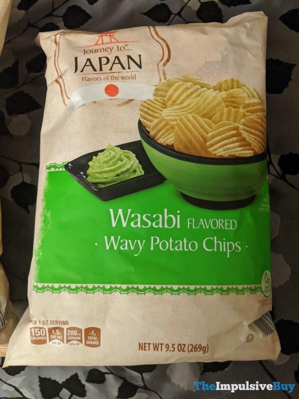 Journey to Japan Wasabi Wavy Potato Chips