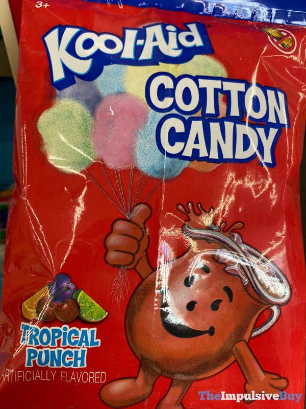 Kool Aid Tropical Punch Cotton Candy