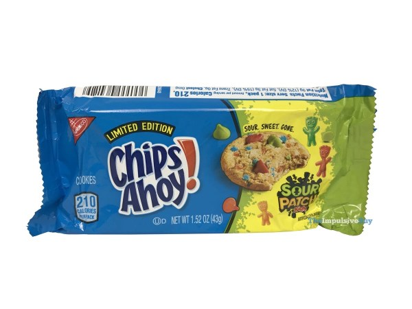 Limited Edition Chips Ahoy Sour Patch Kids Cookies