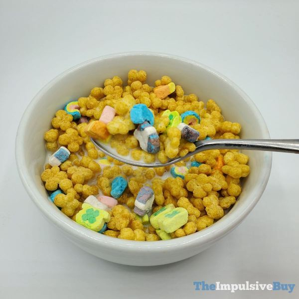 Lucky Charms Honey Clovers Cereal Bowl