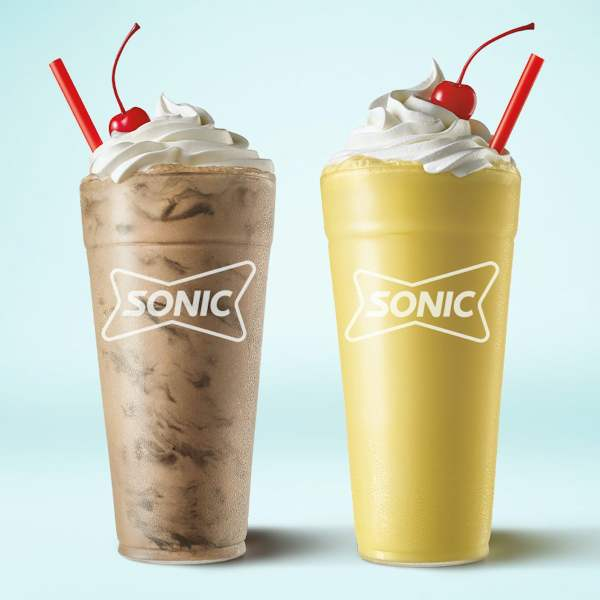News Sonic Brownie Batter Shake