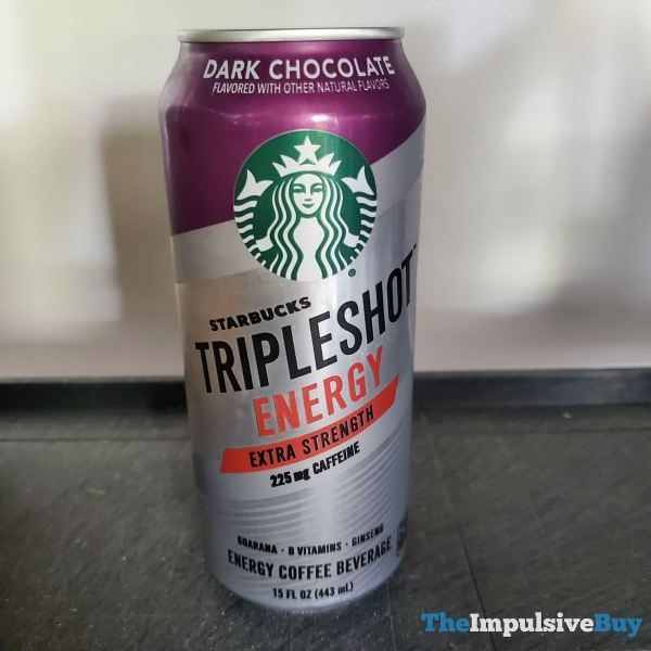 Starbucks Tripleshot Energy Dark Chocolate
