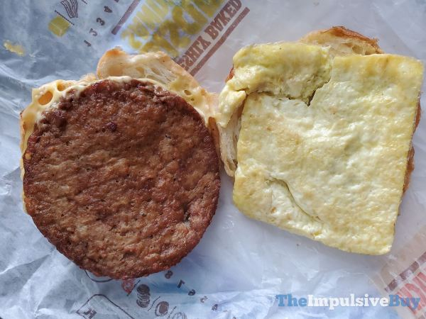 Burger King Impossible Croissan wich Top