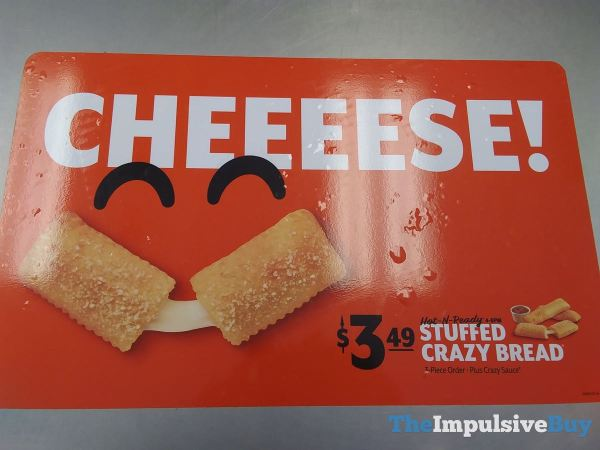 Little Caesars Stuffed Crazy Bread