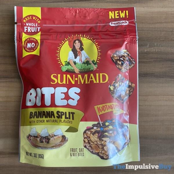 Sun Maid Bites Banana Split