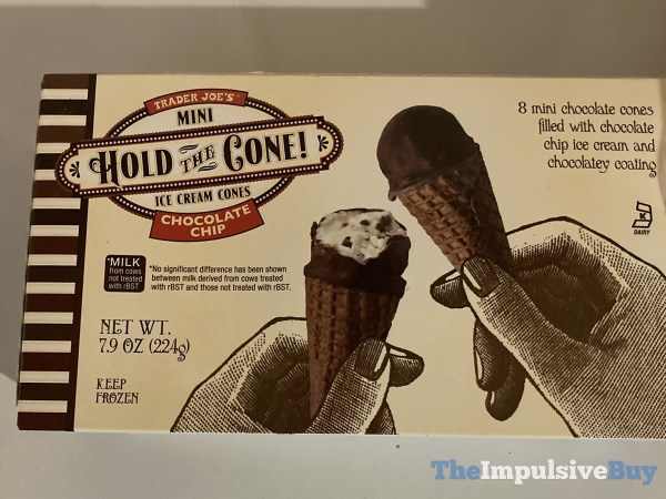 Trader Joe s Chocolate Chip Mini Hold the Cone Ice Cream Cones