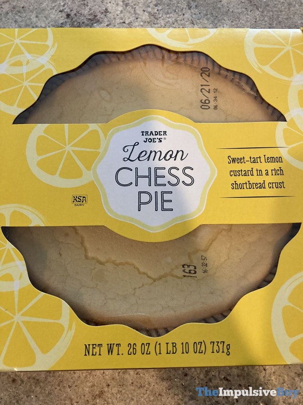Trader Joe s Lemon Chess Pie