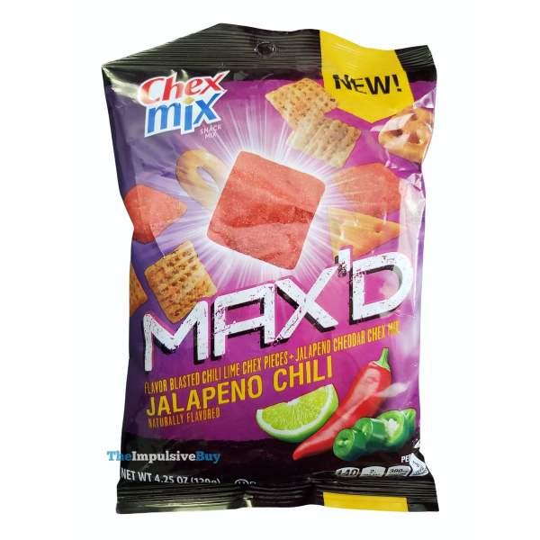 Chex Mix MAX D Chili Jalapeno Bag