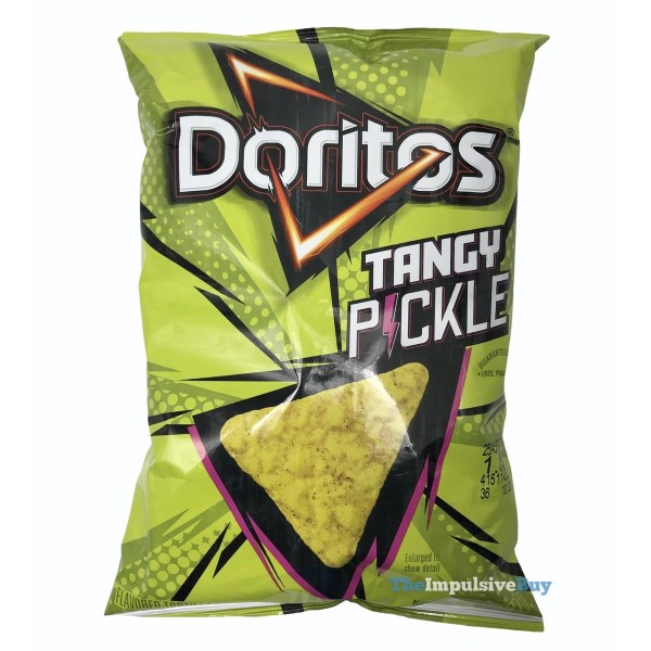Doritos Tangy Pickle Bag