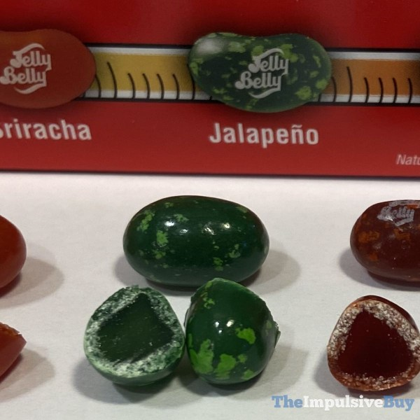 Jelly Belly Bean Boozled Fiery Five Challenge Jalapeno