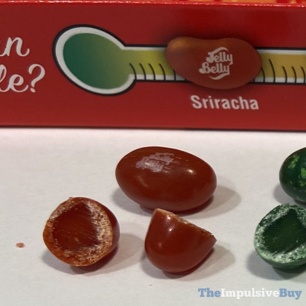 Jelly Belly Bean Boozled Fiery Five Challenge Sriracha